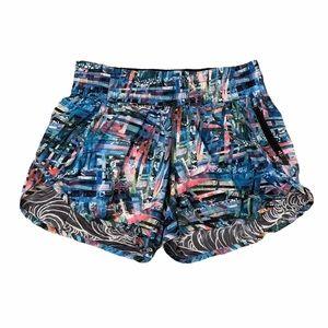 Lululemon Seawheeze 2018 Pattern Tracker Shorts